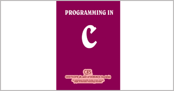A book on Programming in Computers by Munishwar Gulati written for CEDTI