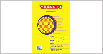 A book on VBScript by Ambica Chawla
