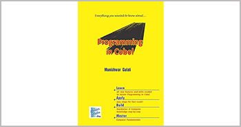 A book on Programming in COBOL by Munishwar Gulati
