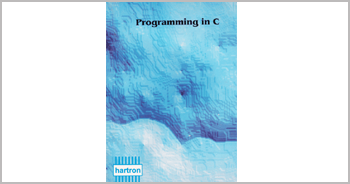 A book on Programming in C by Munishwar Gulati written for HARTRON WORKSTATION
