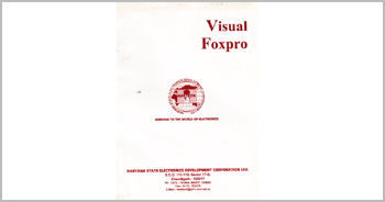 A book on Visual Foxpro Programming by Munishwar Gulati written for HARTRON WORKSTATION
